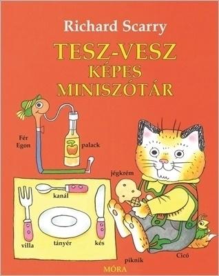 Tesz-Vesz képes miniszótár