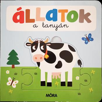 Állatok a tanyán – Képeskönyv kicsiknek