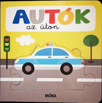 Autók az úton – Képeskönyv kicsiknek